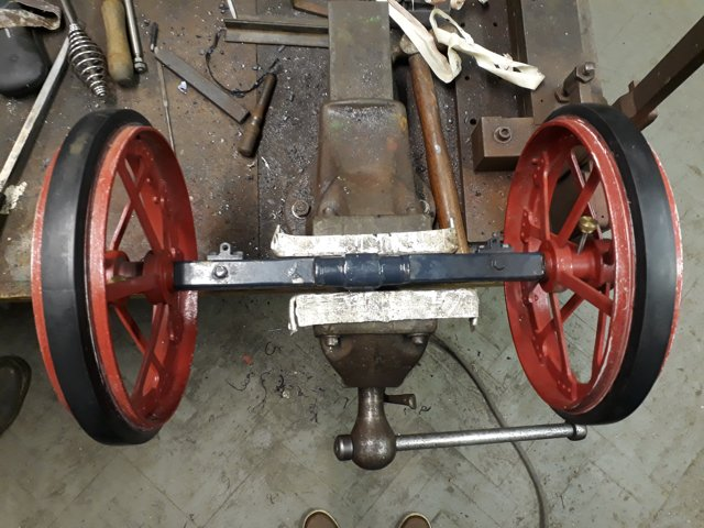"3"" Scale Burrell Agricultural Engine"